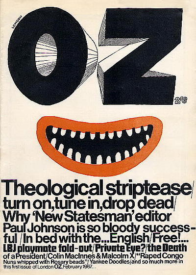 OZ magazine avec Martin Sharp