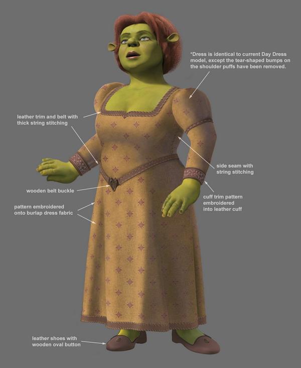 Shrek 3 Fiona Shrek 3   designShrek 3 Human