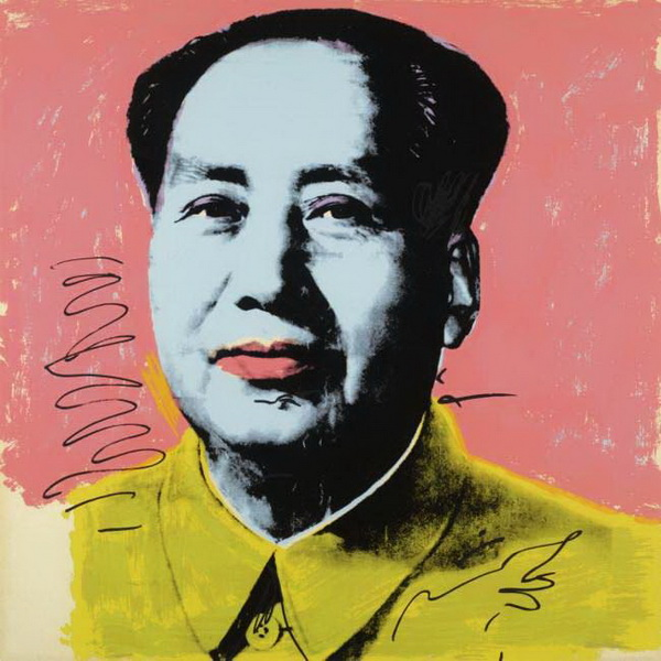 Andy Warhol Mao-Rose
