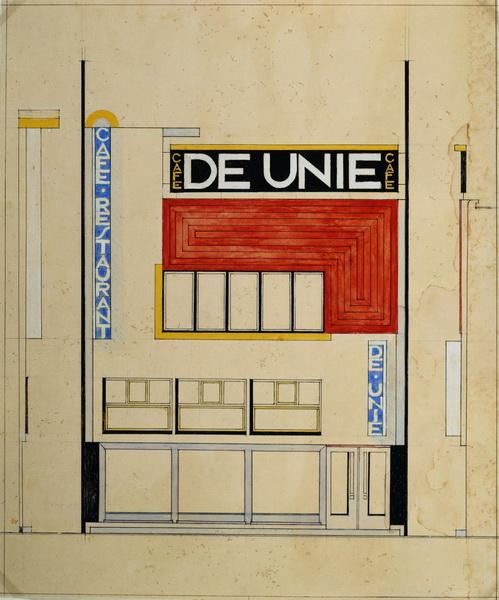 Mondrian De Stijl