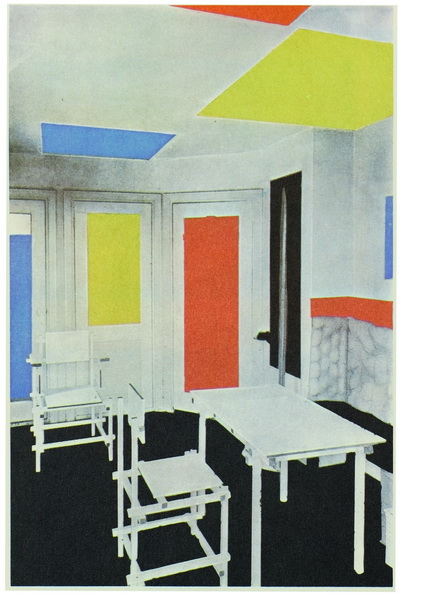 Mondrian de stijl - Stijl des maisons ...