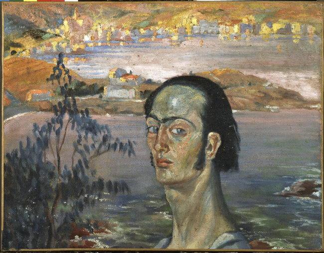 Autoportrait au cou de Raphael Salvador Dali