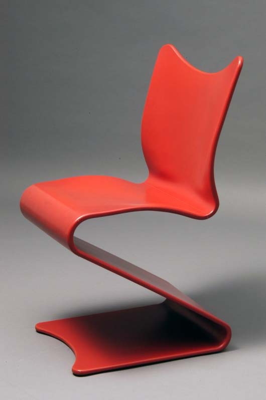 Verner panton chaise free visitor armchair textile for Chaise panton