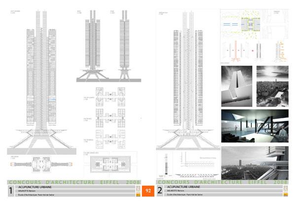 concours d 39 architecture eiffel 2008 2009. Black Bedroom Furniture Sets. Home Design Ideas
