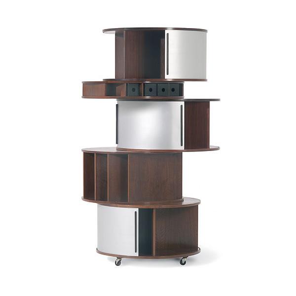 un meuble de chevet design. Black Bedroom Furniture Sets. Home Design Ideas