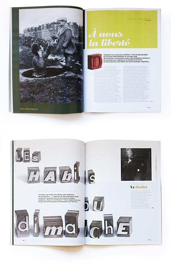 elhadi yazi  elhadi yazi air france magazine graphiste typographie portfolio