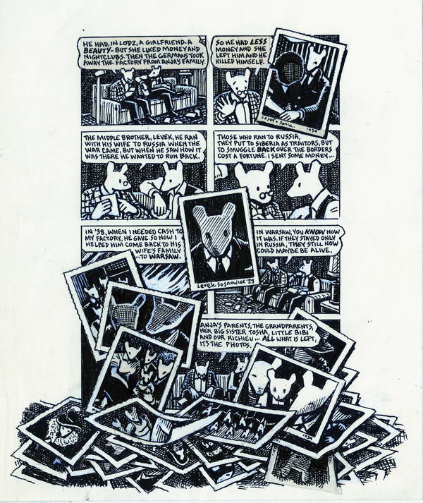 maus art spiegelman thesis Art spiegelman's maus: a different type of holocaust literature the jewish holocaust, as is the case with events in which the human spirit has been engaged in a fight for survival, produced great works of literature.